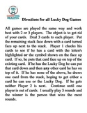 LuckyDog Directions