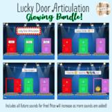 Lucky Door Articulation Boom Cards BUNDLE!