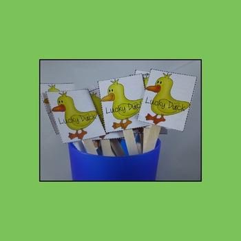 Lucky Duck  Behavior Management Add-on