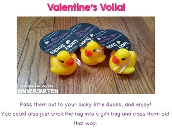 Lucky Duck Valentines Gifts
