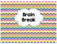 Lucky Duck and Brain Break Label