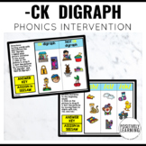 Phonics Intervention Games CK Digraph