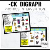 Phonics Intervention Games CK Digraph