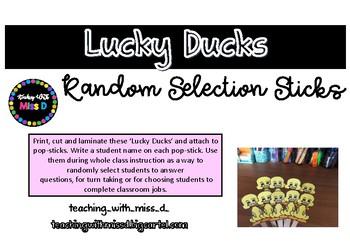 Lucky Ducks (FREEBIE)