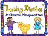 Lucky Ducks {Classroom Management}