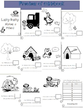 Lucky Ducky Mini-Book and Rhymes