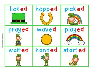 Lucky Endings: Reading Words with Inflected Endings