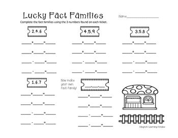 Lucky Fact Families
