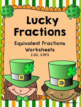 Lucky Fractions - Equivalent Fractions Worksheets