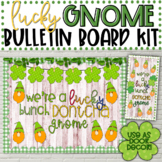 Lucky Gnome Bulletin Board Kit - St. Patrick's Day Bulletin Board