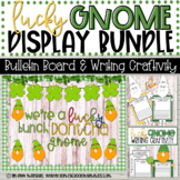 Lucky Gnome Bulletin Board & Writing Craftivity Bundle (St
