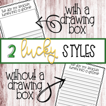 Lucky Gnome St. Patricks Day Writing Craftivity