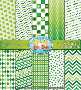 St. Patrick's Day Digital Scrapbook {Zip-A-Dee-Doo-Dah Designs}