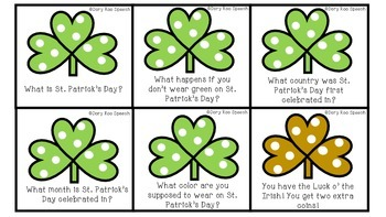St. Patrick's Day Lucky Language!