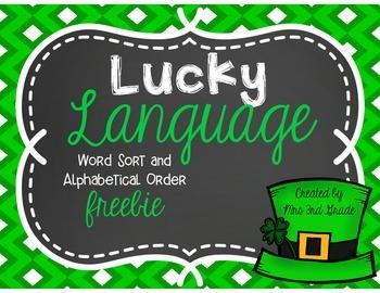 Lucky Language ~ FREEBIE!