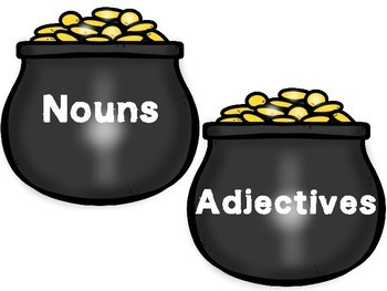 Lucky Language Parts of Speech Word Sort