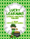 Lucky Learning {St. Patrick's Day Literacy and Math Mini-Unit}