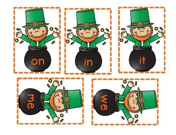 Lucky Leprechan! A Sight Word Game