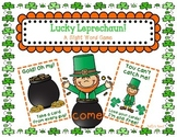 Lucky Leprechan! A Sight Word Game
