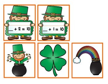 Lucky Leprechaun A Missing Addend Game