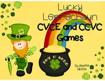 Lucky Leprechaun CVCE and CCVC Games