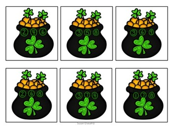 Print and Go -  Week's worth of Leprechaun themed centers for your students!