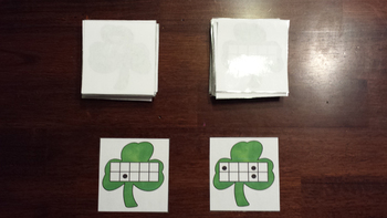 St. Patrick's Day 10 Frame Counting Game