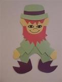 Lucky Leprechaun Cutout