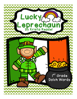 Lucky Leprechaun {First Grade Dolch Sight Words}