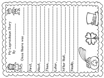 Lucky Leprechaun Kids Craftivity