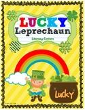 Lucky Leprechaun Literacy Centers