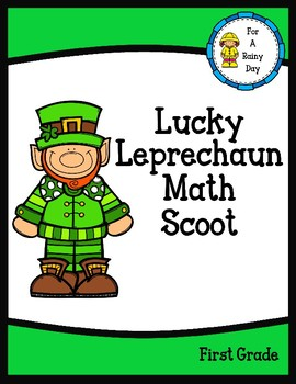 Lucky Leprechaun Math Scoot (Addition and Subtraction)