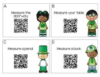 St. Patrick's Day Measuring FREEBIE