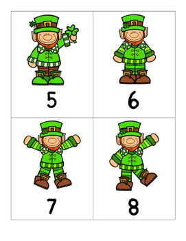 Lucky Leprechaun {Numbers 0-100}