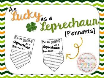Lucky Leprechaun Pennant