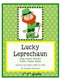 Lucky Leprechaun Vowel Team Game