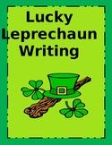 Lucky Leprechaun Writing