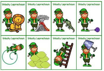 Lucky Leprechaun /L/ Game for Articulation