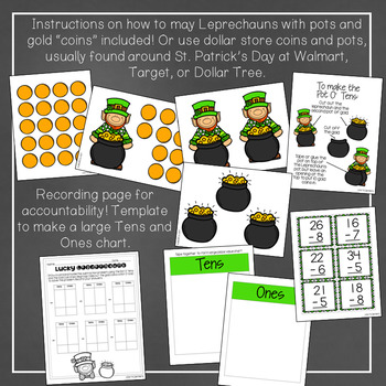 Lucky Leprechauns: A March Math Center for Regrouping with Subtraction