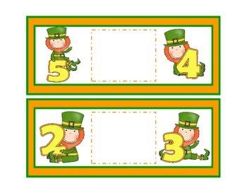 Lucky Leprechauns   A Number Comparison Activity