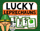 Lucky Leprechauns! (A Sight Word Game) EDITABLE Cards Included!!!