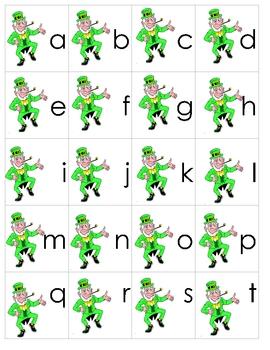 Lucky Leprechaun's Letter Sort CenterActivity