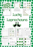 Lucky Leprechauns ...Math, Language & More (St. Patrick's Day)