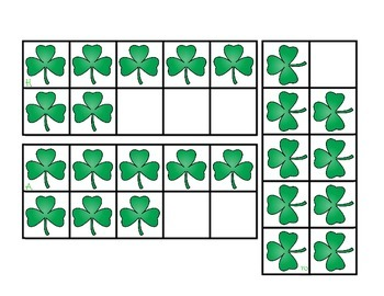 Lucky Leprechauns Math Pack