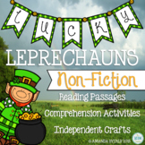 Lucky Leprechauns St. Patrick's Day Non-Fiction Reading