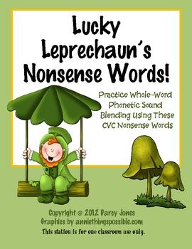 Lucky Leprechaun's Nonsense Words