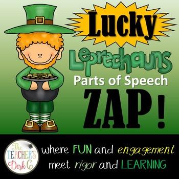 Lucky Leprechauns Parts of Speech ZAP!