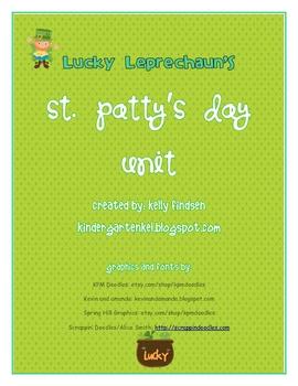 Lucky Leprechaun's St. Patty's Day Packet
