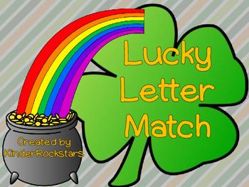 Alphabet Match Center St. Patrick's Day