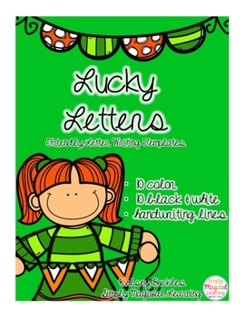 Lucky Letters: Friendly Letter Writing Templates